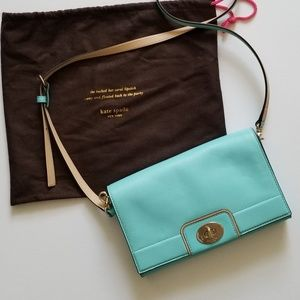 Kate Spade crossbody bag (mint aqua color)